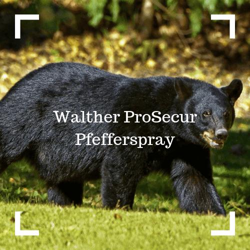 Walther ProSecur Bärenabwehrspray