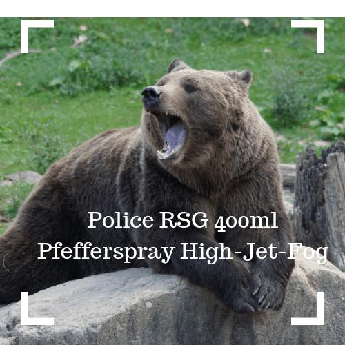 Police RSG 400ml Pfefferspray High-Jet-Fog